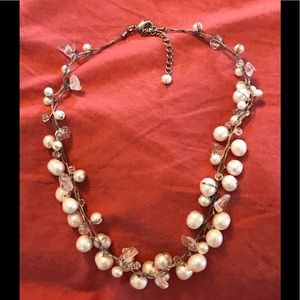 Pearl River of Snow necklace